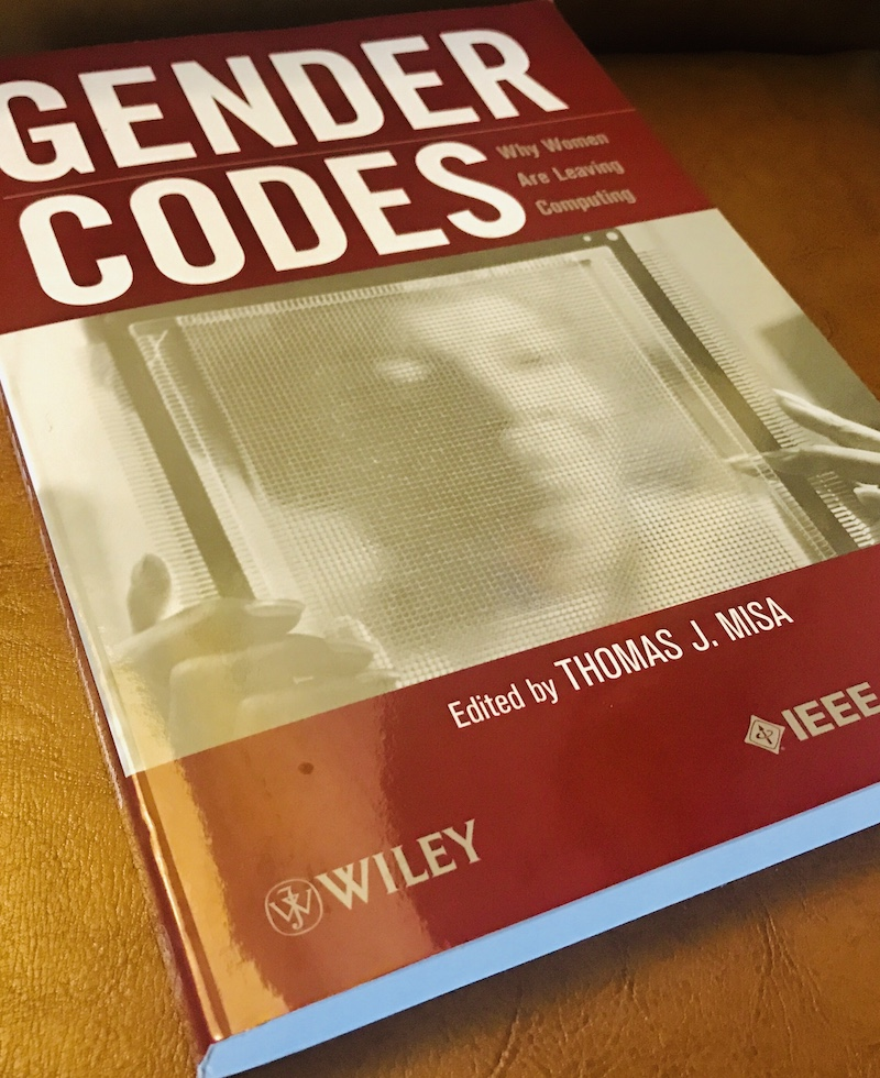Gender Codes book cover, editor Thomas Misa (IEEE-Wiley, 2010).